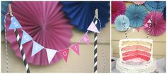 "Gender Reveal ""Pink & Blue Ombre Gender Reveal"" 