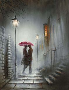 Jack Vettriano, Contrast Lighting, Popular Artists, Artist Signatures, Light And Shadow, Bellisima, New Art, Amazing Art, Watercolor Art