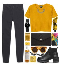 """""""Sem título #740"""" by andreiasilva07 ❤ liked on Polyvore featuring Marc Jacobs, Monki, Aesop, MANGO, Oroton, Kiehl's, Movado, Comodynes and River Island"""