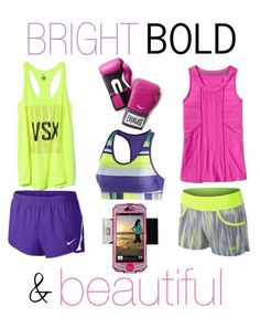 Bold and Beautiful Fab Finds For Fitness Cute Workout Outfits, Workout Attire, Workout Wear, Skinny Mom, Gym Style, Fitness Style, Workout Essentials, Yoga Fitness, Fitness Gear