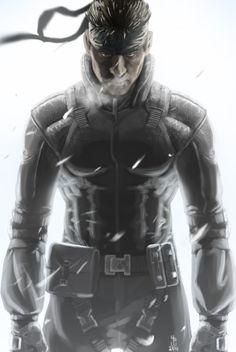 Solid Snake - Metal Gear Solid by AizakMoon.deviantart.com on @deviantART