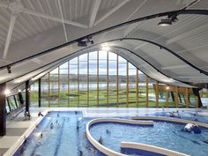 The Mantes La Jolie Water Sports Centre by Agence Search