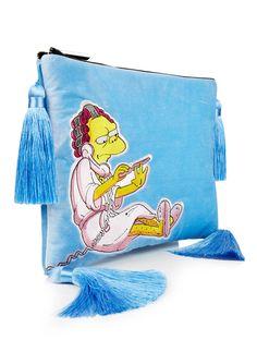 Skinnydip Moe Tassel Clutch Bag