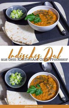 Ein schnelles Rezept für ein indisches Dal. Kinderleicht zubereitet im KitchenAid Cook Processor oder aus dem Kochtopf.