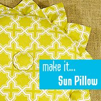 Great pillow and great daily ideas.