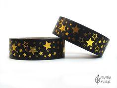 Washi Tape - Foil Sterne gold