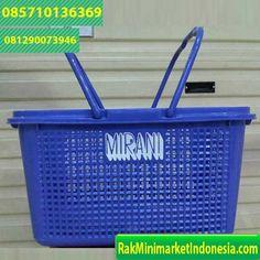 Jual Keranjang Minimarket Jinjing Warna Biru