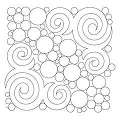 Shop | Category: Bubbles/Circles/Pearls/Pebbling | Product: Spirals and bubbles E2E
