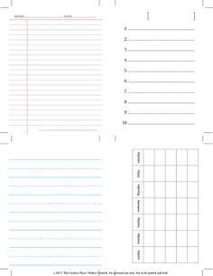 DIY :: Printable Journaling Cards