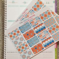 NEW! January Monthly Half Box Stickers for Erin Condren Life Planner/Plum Paper Planner - Set of 32