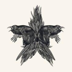 Raven's Revenge - Limited Edition Print, Lauren Mortimer