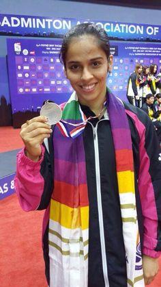 Saina Nehwal Won Bronze Medal For Uber Cup