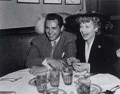 1940's Candid Shot of Lucy and Desi | Flickr - Photo Sharing!