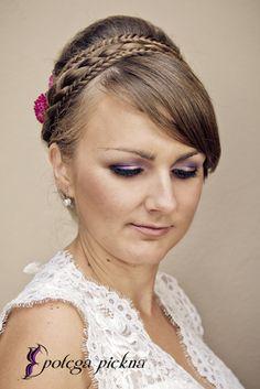 Makijaż ślubny Panny Młodej - Ania | Wedding makeup | Warszawa, 2013 | Make up: Potęga Piękna