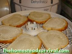 Make Your Own Bread Crumbs Using The Dehydrator