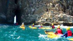 kayaking in HongKong by Tonishiu #BluffIslandCave #seacave #tunneling
