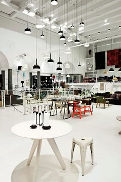 industrial flagship store Normann Copenhagen