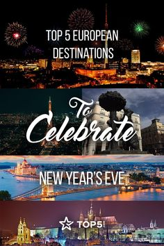 Check out the best cities in Europe to bring in the New Year!