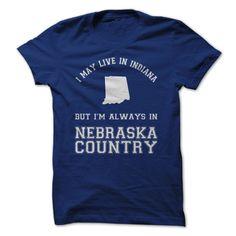 Indiana For Nebraska Country #sport #tshirt