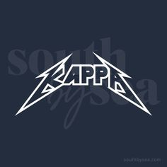 ✰ South By Sea @southbyseacollege ✰ Kappa Kappa Gamma | Rock | Band Tee | South By Sea | Greek Tee Shirts | Custom Apparel Design | Custom Greek Apparel | Sorority Shirts | Sorority Graphics | Sorority Tanks | Sorority Shirt Designs Sorority Shirt Designs, Sorority Shirts, Custom Clothing Design, Custom Clothes, Rock Band Tees, Kappa Kappa Gamma, Custom Greek Apparel, Custom Tee Shirts, Greek Clothing