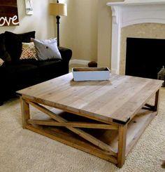 DIY coffee table, gorgeous