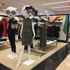 """BLOOMINGDALES, Aventura Mall, Miami, Florida, """"That's the one"""", for Alice and Olivia, photo by Camila Salek, pinned by Ton van der Veer"""