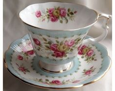 Royal Albert Gaiety Series Two-Step Cup & Saucer