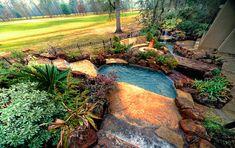 Backyard Spa, on Golf Course
