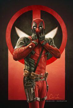 Deadpool Art, Deadpool Funny, Deadpool And Spiderman, Deadpool Movie, Spiderman Art, Deadpool 2016, Marvel Fan Art, Marvel Comics Art, Marvel Heroes