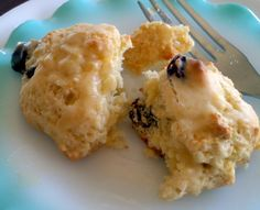 Shabby Pine Cottage: English Rock Cakes with Orange Drizzle