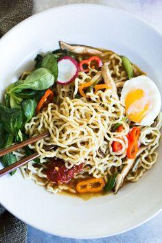 Easy Vegetarian Ramen | A Couple Cooks
