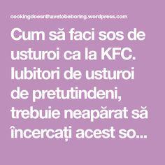 Cum să faci sos de usturoi ca la KFC. Iubitori de usturoi de pretutindeni, trebuie neapărat să încercați acest sos de usturoi, inspirat de celebrul său tovarăș de la KFC și foarte asemănător ca tex…