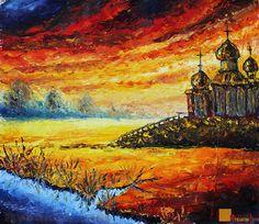 - Artist Valery Rybakow Painting by Valery Rybakow - Oil Painting ...