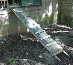 DIY Dog Ramp   Toys, Your dog and Stairs