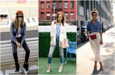Как да носим: риза от деним | Fashion Inside