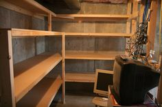 Storage Room Shelves by rb3wreath, via Flickr