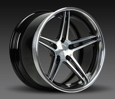 The Forgeline SC3C Concave finished with the Gloss Black with HTM Center, Gloss Black Inner, and Polished Outer. Learn more at: http://www.forgeline.com/products/concave-series/sc3c-concave.html