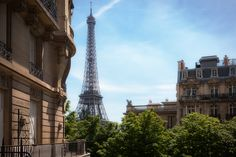 Eiffel Tower View | Parisian Stories by Inge Barona