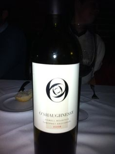 Fantastic bottle of wine we had at 2011 x-mass party!