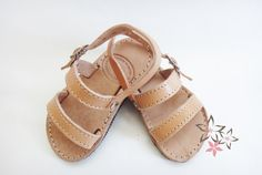 Phoebe Kids / Baby Sandals / Genuine Greek High by Twininas