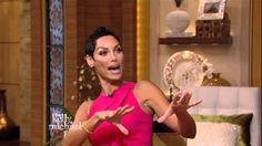 "Nicole Murphy Reveals the Michael Strahan Top Ten -- ""LIVE with Kelly an..."