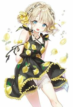 If there is a lemon boi, then there is also a lemon gurle # lemon gurles amor boy dark manga mujer fondos de pantalla hot kawaii Anime Oc, Anime Angel, Anime Chibi, Anime Hair, Kawaii Anime Girl, Manga Kawaii, Loli Kawaii, Pretty Anime Girl, Beautiful Anime Girl
