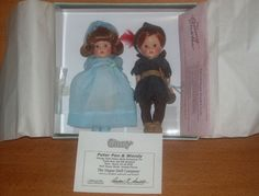 Peter Pan and Wendy by Vogue, 2005, LE of 100, very rare, made for epcot Disney teddy bear and doll show, FLA.