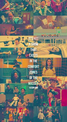 <3 <3 <3 Community: It's not a show that exists in the comfort zones of the masses.