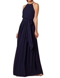 Halter Neck Sleeveless Bridesmaid Dresses Prom Gowns Navy... https://www.amazon.com/dp/B01M4HGPAX/ref=cm_sw_r_pi_dp_x_g.ZZybQNBSYCD