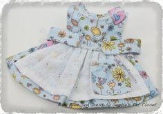 Adorable Baby Blue Dog Dress  S M L Light Blue by SophiesPetCloset, $48.00