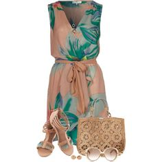 """""""Tropical Summer Dress"""" by daiscat on Polyvore"""