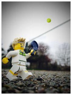 Hyperbolego – Lego Inspired Original Photography Tennis Player
