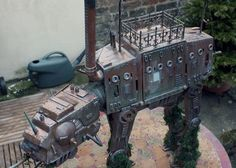 Behold the awesomeness of steampunk Star Wars! :D
