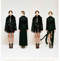 Rodarte For Opening Ceremony Fall Lookbook